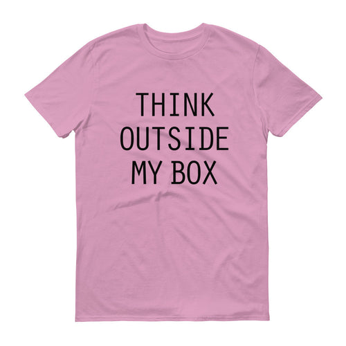 Think Outside My Box protest t-shirt
