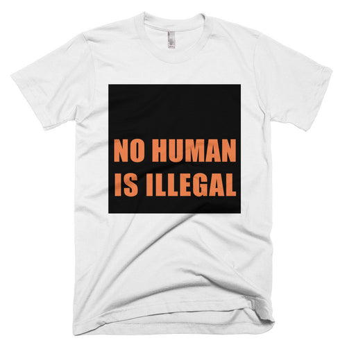 No Human is Illegal protest t-shirt