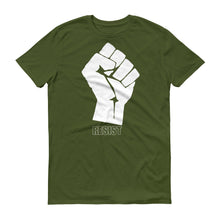 Fist Resist protest t-shirt