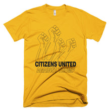 Citizens United Against Trump protest t-shirt