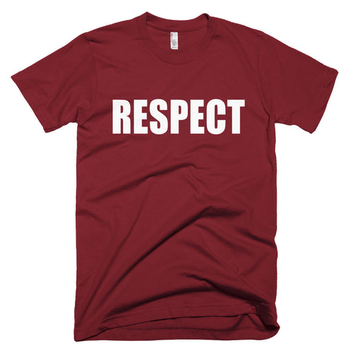 RESPECT protest t-shirt