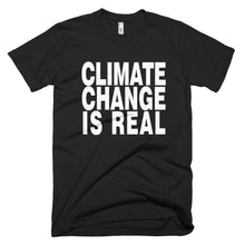 Climate Change is Real protest t-shirt