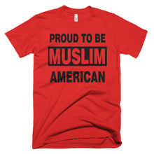 Proud to be Muslim American protest t-shirt