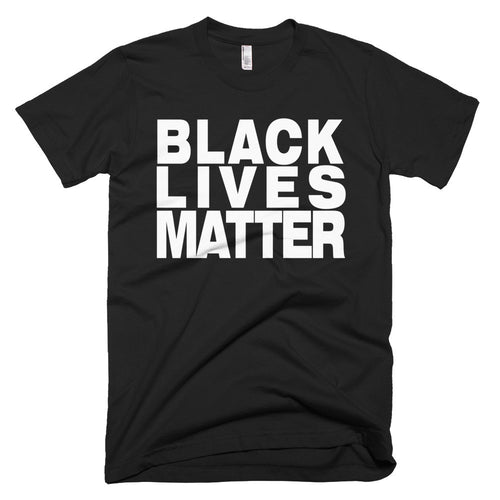 Black Lives Matter protest t-shirt