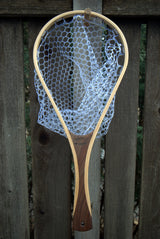 Driftless Custom Handmade Wood Landing Fishing Net - Dead Drift Net Company - Walnut, Cherry