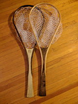 North Woods Custom Handmade Wood Landing Fishing Net - Dead Drift Net Company - Maple/Walnut