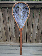 Superior Boat Custom Handmade Wood Landing Net - Dead Drift Net Co. - Cherry & Walnut