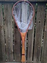 North Woods Custom Handmade Wood Landing Fishing Net - Dead Drift Net Company - Purpleheart