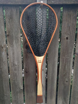 North Woods Custom Handmade Wood Landing Fishing Net - Dead Drift Net Company - Walnut/Maple/Sapele