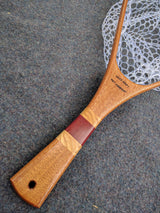 Driftless Custom Handmade Wood Landing Fishing Net - Dead Drift Net Company - Sapele, Ash, Purpleheart