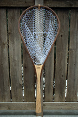 Superior Custom Handmade Wood Landing Net - Dead Drift Net Co. - Maple & Walnut