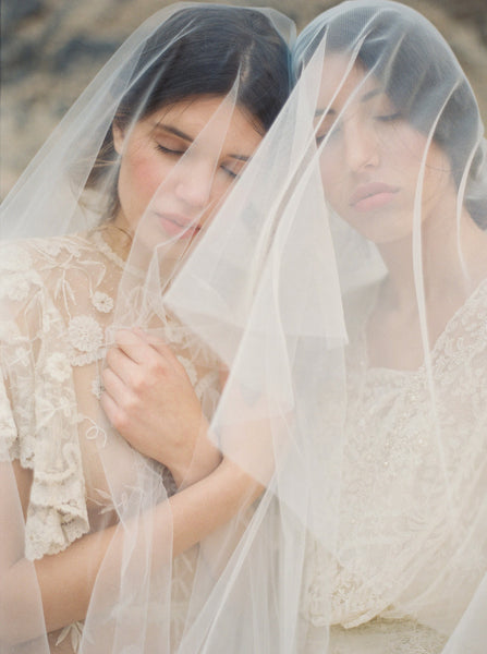Wedding Veil Fullness Guide