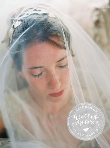 A TUSCAN BRIDAL SESSION DURING SUNRISE - <br /><em>Wedding Sparrow</em>