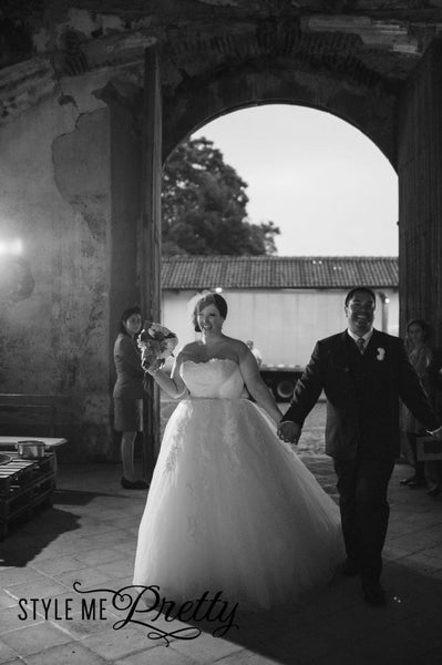 Destination Wedding in Antigua, Guatemala- <br /><em>Style Me Pretty</em>