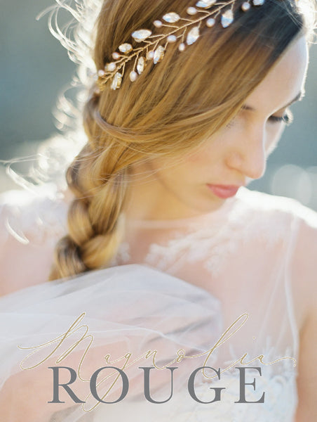 Golden Wheat Wedding Inspiration Board- <br /><em>Magnolia Rouge</em>