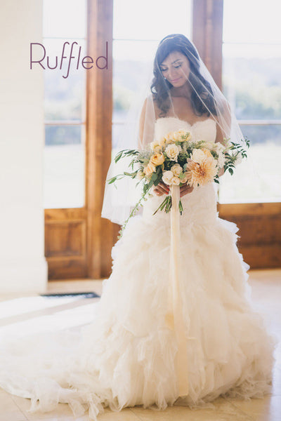 Muted Fall Wedding- <br /><em>Ruffled</em>