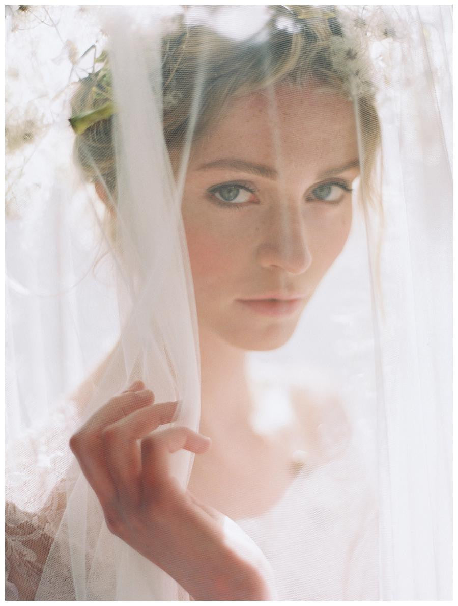 Melinda Rose Drop Wedding Veil