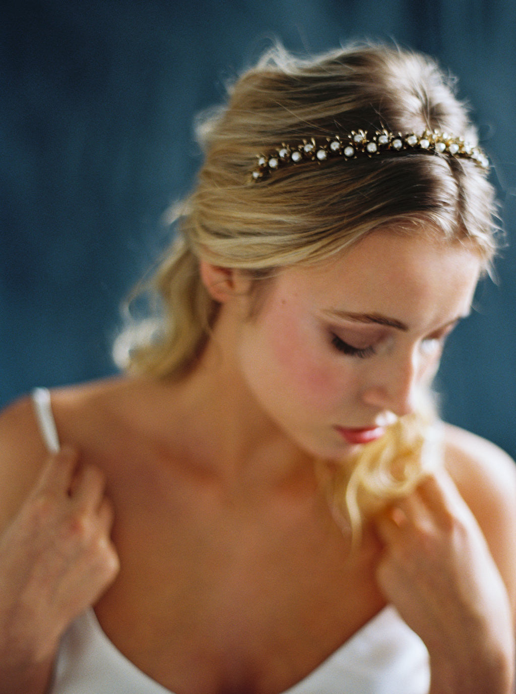 Lily of the Valley Crown - Bridal Wedding Headpiece  f0d95fb765f