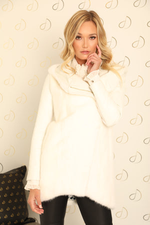 Bianca White Mink Jacket