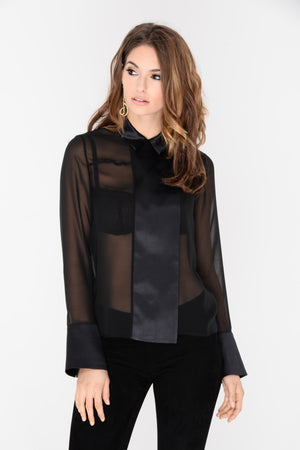 Regina Silk Blouse