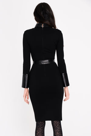 Florence Ponti Leather Dress