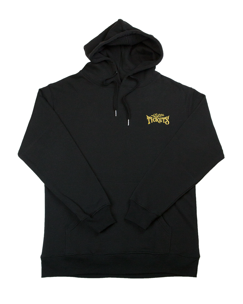 Embroidered Logo Hoodie