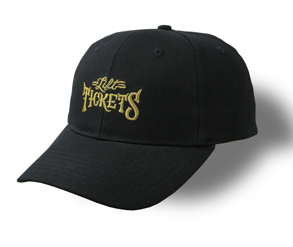 Black Lift Tickets Strapback