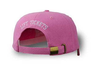 Pink Lift Tickets Strapback