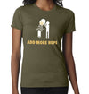 Add More Hops T-Shirt on Female Model