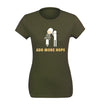 Women's Add More Hops Homebrewing T-Shirt Flat