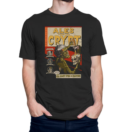 Ales from the Crypt Beer T-Shirt on Model