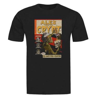 Ales from the Crypt Beer T-Shirt Flat Image