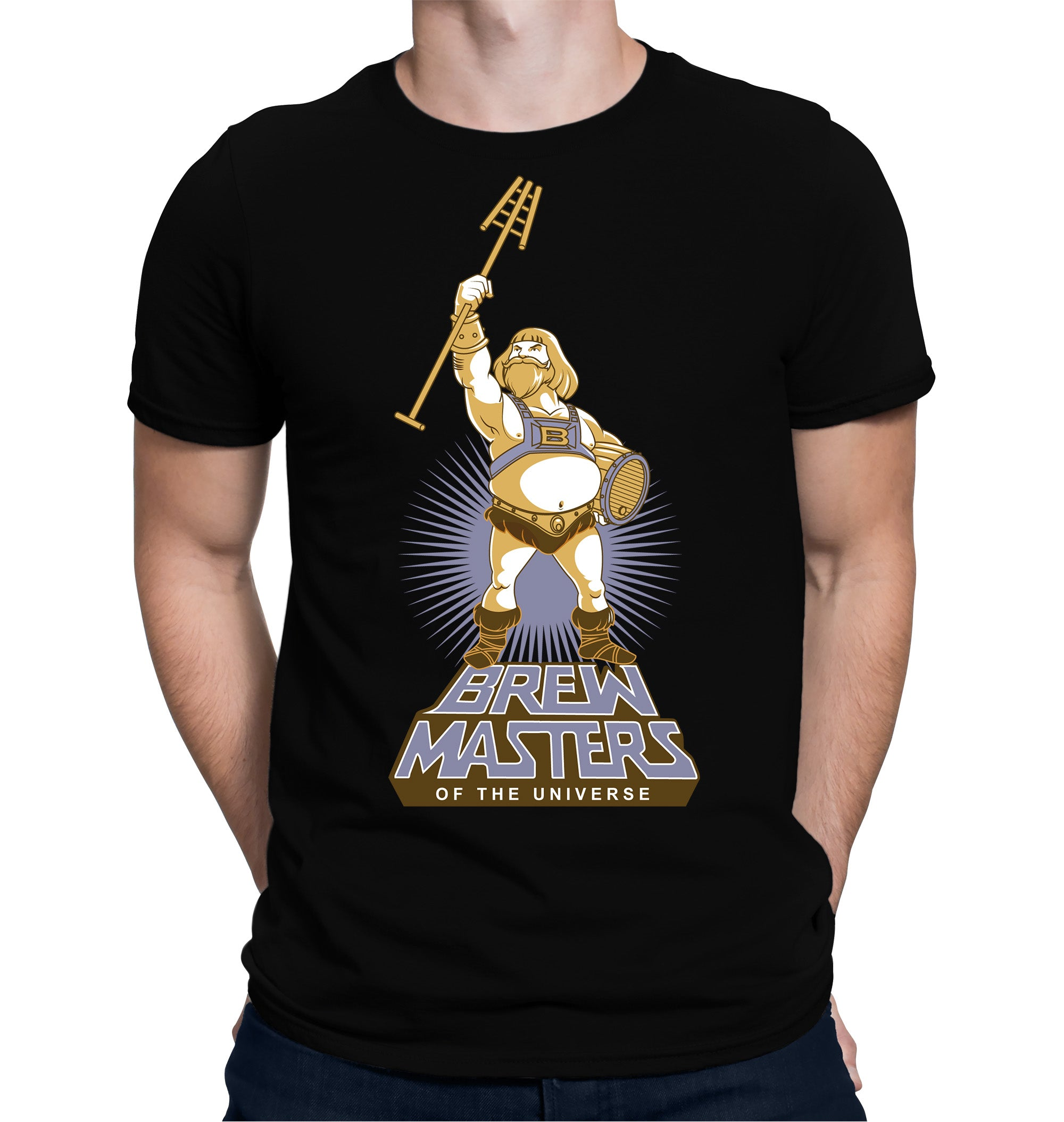 Brewmasters of the Universe Homebrewing Beer T-Shirt