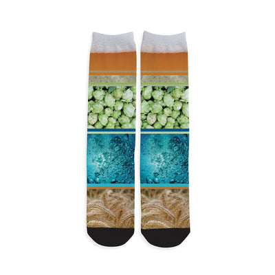 Beer Ingredient Craft Beer Socks