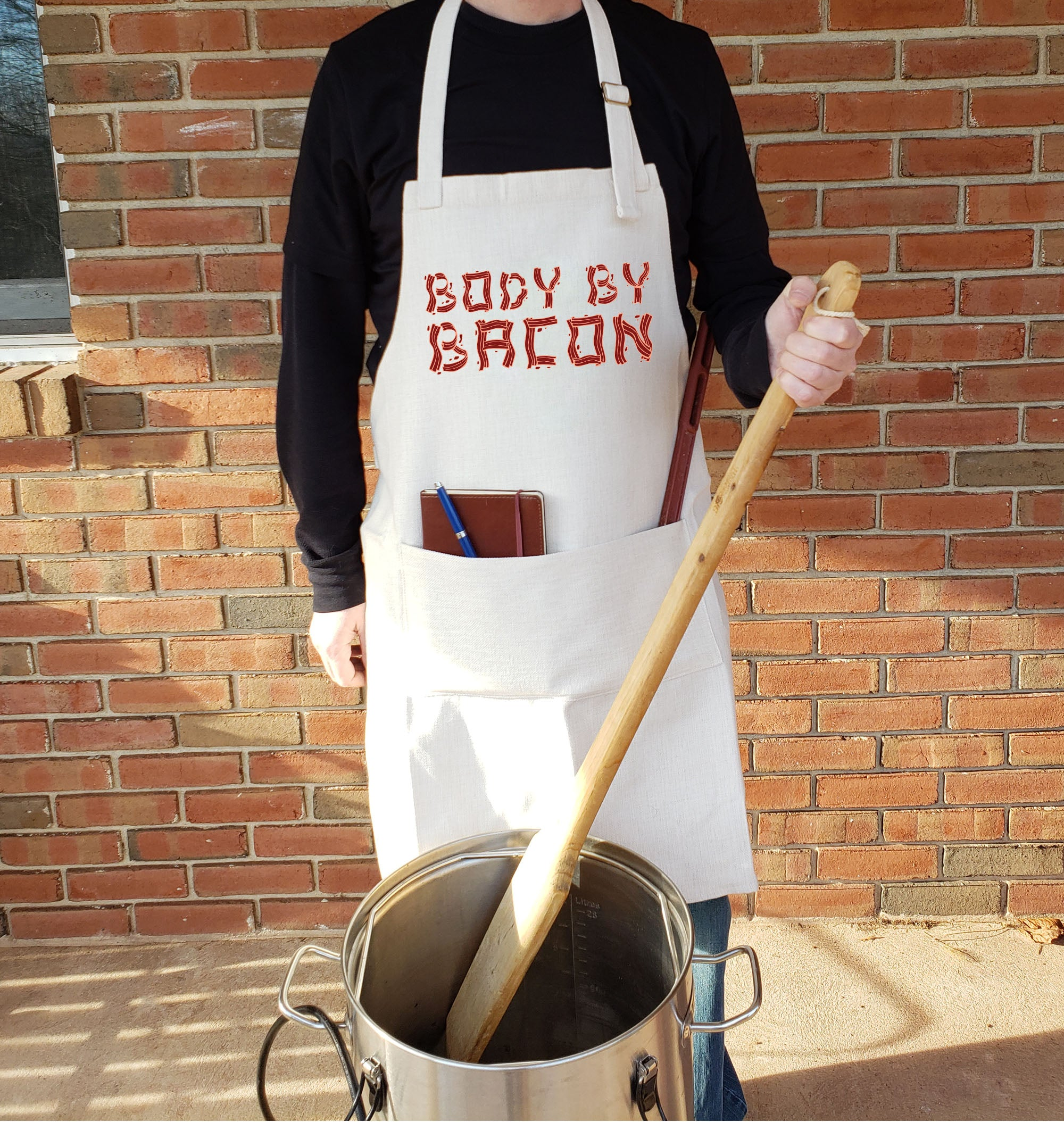 Body by Bacon BBQ Apron