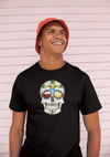 The Brewers Sugar Skull Craft Beer T-Shirt Action Shot