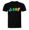 The Brewing Elements Craft Beer T-Shirt Flat Black