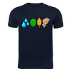The Brewing Elements Craft Beer T-Shirt Flat Navy
