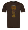 Craft Beer Styles T-Shirt Flat