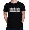 Cask Periodic Table Black T-Shirt on Model
