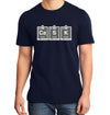 Cask Periodic Table Navy T-Shirt on Model