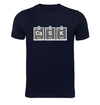 Cask Periodic Table Navy T-Shirt Flat