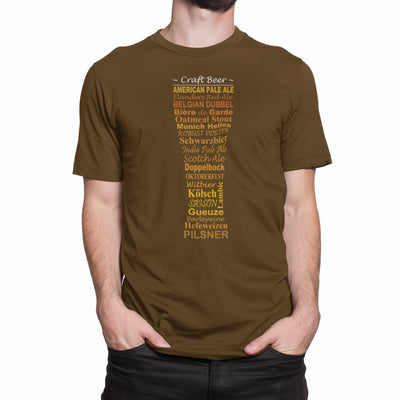 Craft Beer Styles Beer T-Shirt