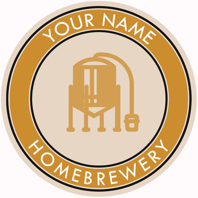 Your Name Here Conical Fermentor Beer Coaster