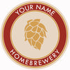 Your Name Here Hop Cone Beer Coaster