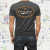 Drink Local T-Shirt with Google Map