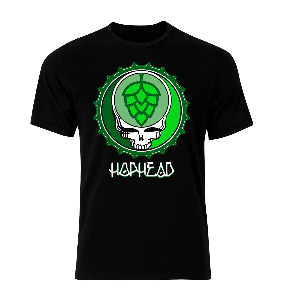 Hop Head Bottlecap T-Shirt