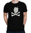 Hops and Crossbones T-Shirt on Model