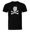 Hops and Crossbones Craft Beer T-Shirt Flat