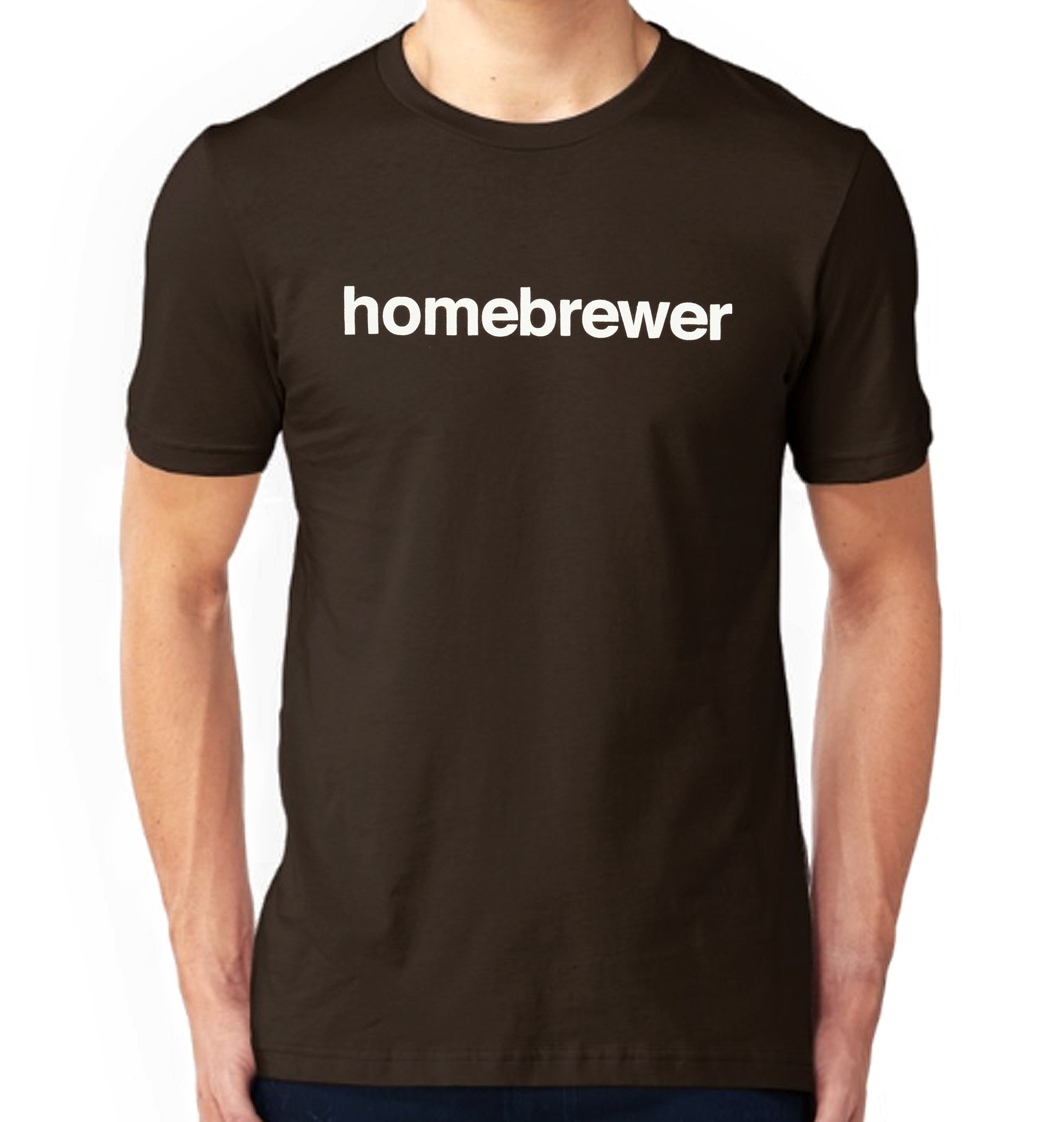 Homebrewer of Beer T-Shirt on Model